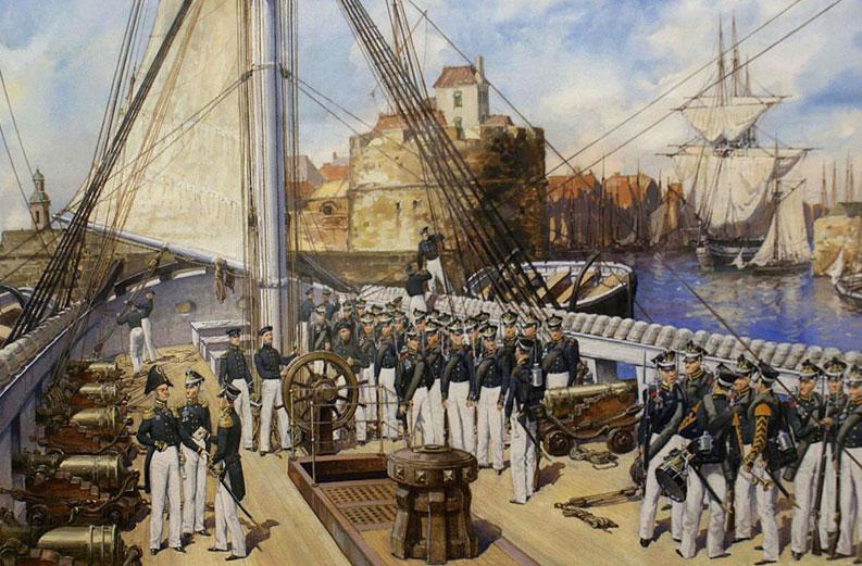 Моряки Гвардійського екіпажу