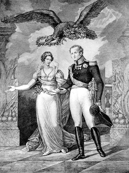 Портрет імператора Олександра I і Єлизавети Олексіївни