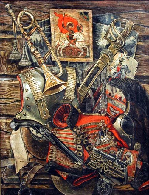 Гроза 1812 року.  Картина Юрія Саприкіна
