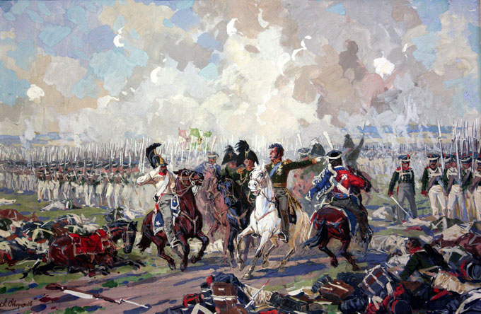 Генерал Багратіон на полі бою