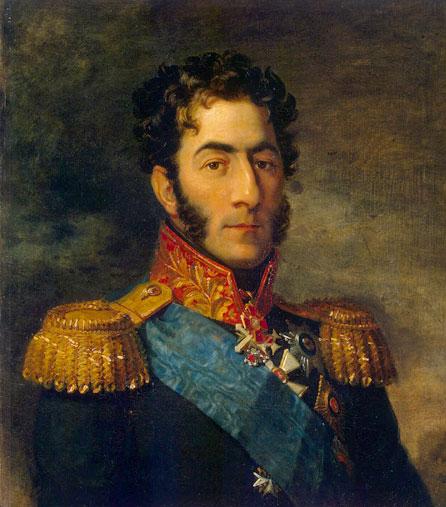 Петро Іванович Багратіон - грузинський князь, російський генерал. Герой Вітчизняної війни 1812 року