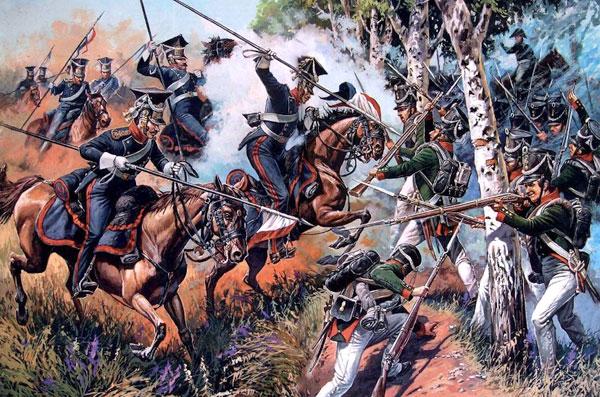 1812. Бій при Вількомирі і Девільтові (Дялтуве)