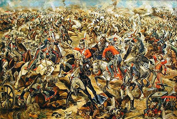 Бій козаків Лейб-рвардії з наполеонівськими кірасирами