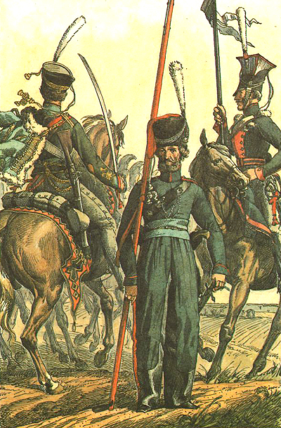 Гусари, козаки та улани - ударна сила кавалерії Ламберта