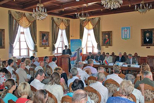 """Могильов. Міжнародна науково-практична конференція """"Вітчизняна війна 1812 року в долях народів Росії і Білорусі"""""""