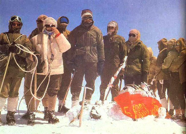 Радянські альпіністи на Ельбрусі