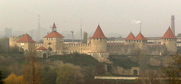 Фортеця у Бендерах (сучасний вигляд)