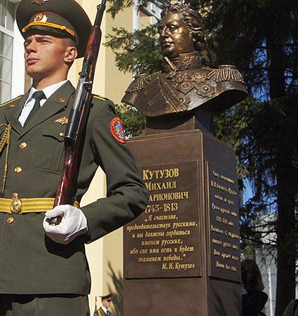 Пам'ятник фельдмаршалові Кутузову відкрито у Новосибірську