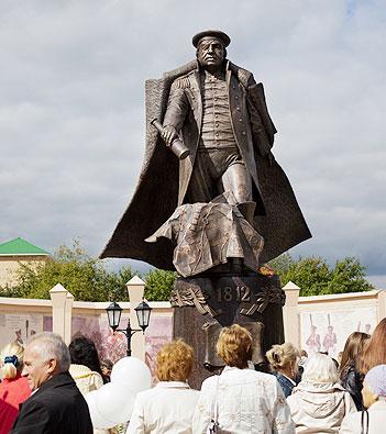 В Красній Пахрі під Троїцьком відкрито пам'ятник Михайлу Кутузову