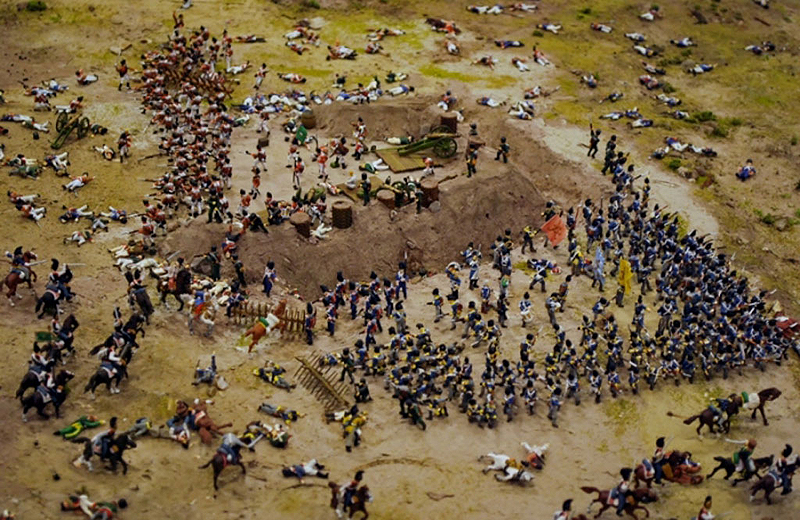 У Лондоні відкрито вражаючий макет битви під Бородино