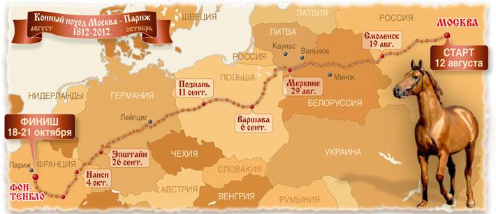 12 серпня почнеться Козачий кінний похід з Москви в Париж