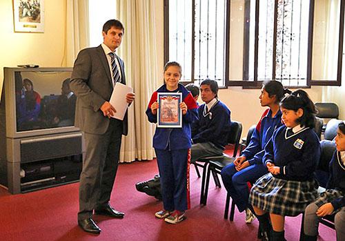 У перуанській столиці вручені грамоти переможцям конкурсу дитячого малюнка