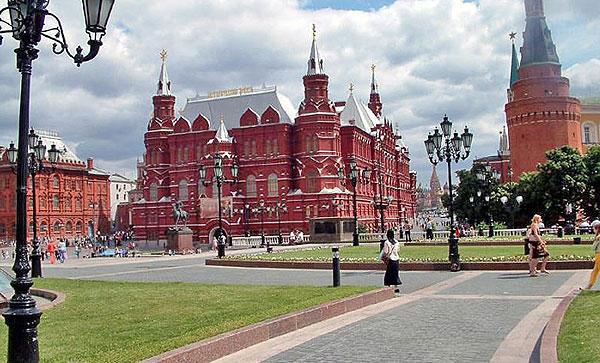 Москва. Державний історичний музей