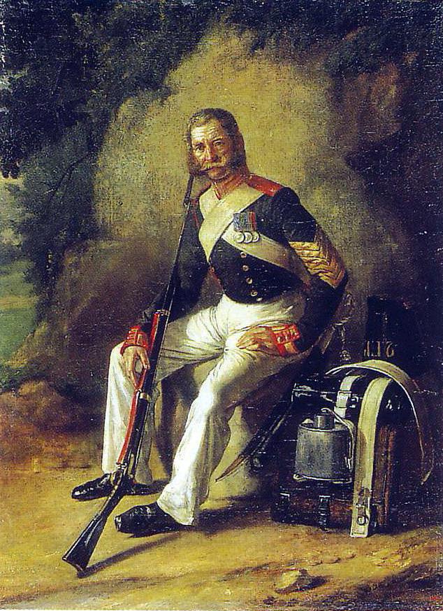 Петро Юхимович Заболотський. Портрет ветерана 1812 року