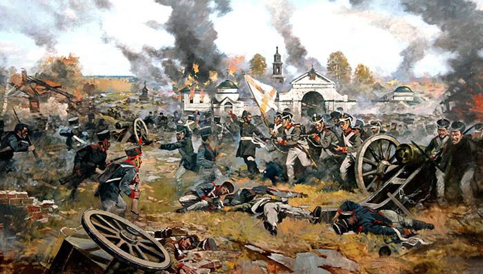 1812. Бій під Малоярославцем