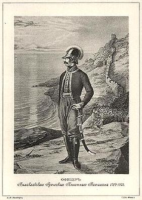 Офіцер Грецького батальону Балаклави (Севастополь, Крим)