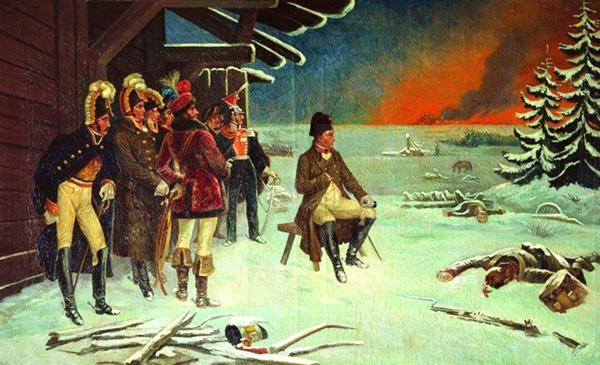 Наполеон біля Малоярославця