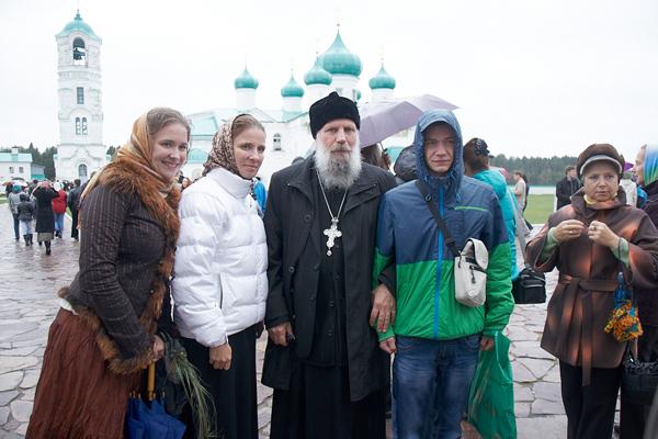 Свято на честь 200-річчя Бородина пройшло в Олександро-Свирському монастирі