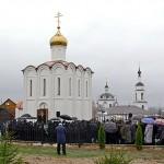 Святіший Патріарх Кирил звершив освячення храму-каплиці на місці ставки фельдмаршала Кутузова в Малоярославці