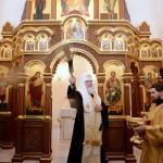 Святіший Патріарх Кирил звершив освячення храму-каплиці на місці ставки Кутузова в Малоярославці
