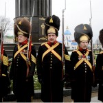 Палацові іиператорські гвардійці. Почесна варта