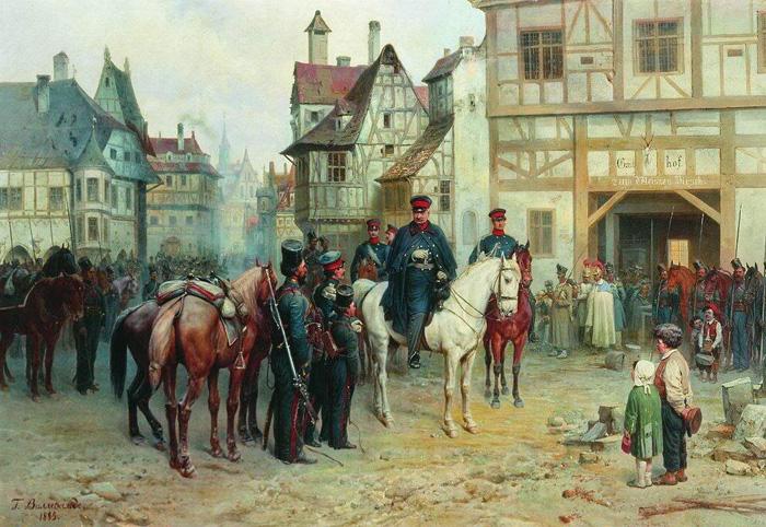 1813. На вулицях захопленого Бауцена