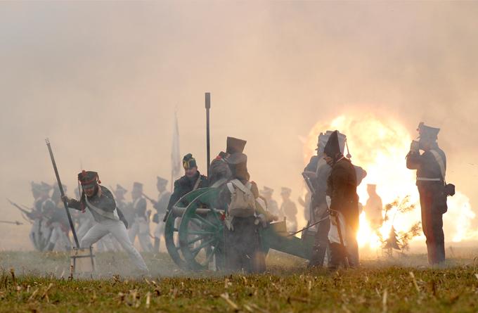 Реконструкція битви на Березіні