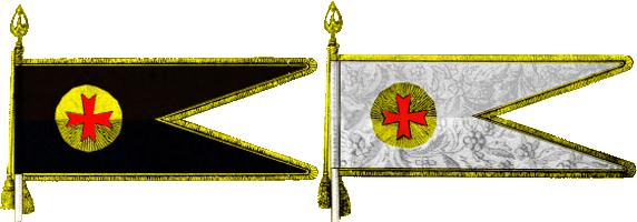 Прапори бузьких козачих полків