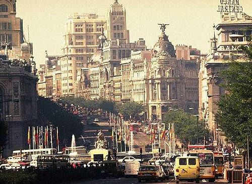 Мадрид. Столиця Іспанії