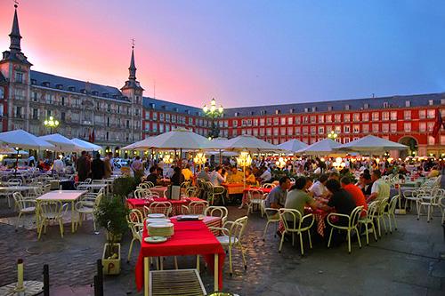 Вечірній Мадрид, Іспанія