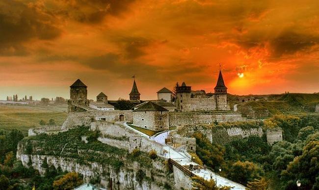 Кам'янець-Подільська фортеця. Сучасний вигляд