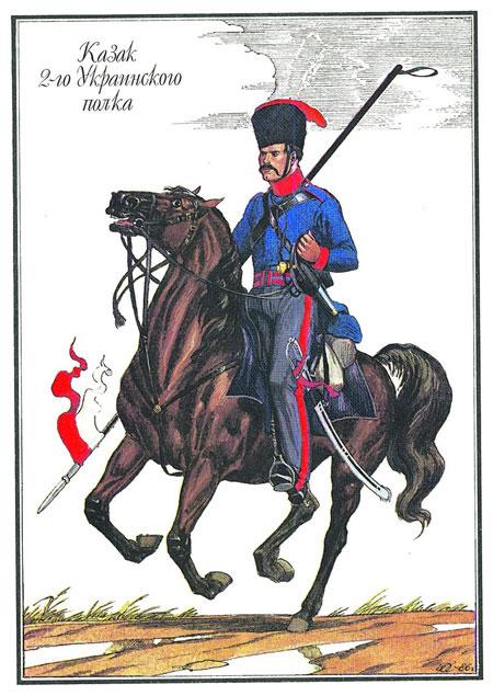 Козак 2-го Українського козачого полку