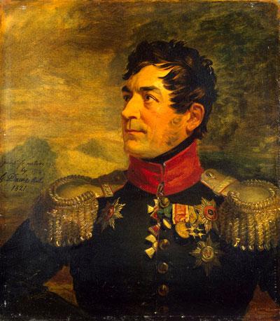 Георгій Арсеньович Еммануель. Командир Київського драгунського полку