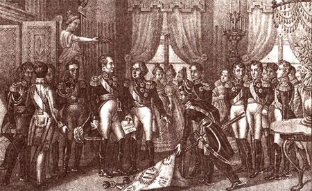 Прибуття Імператора Олександра I у Вільно