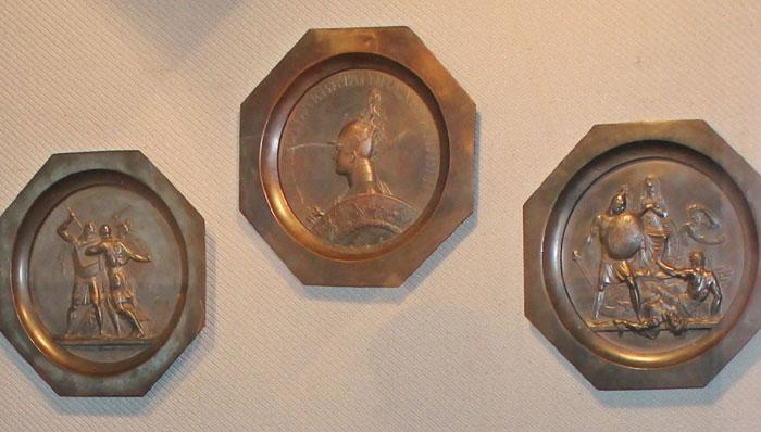 Серія медальонів Ф.П.Толстого на теми подій Вітчизняної війни 1812 року