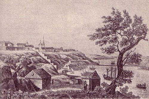 Миколаїв наприкінці XVIII ст.