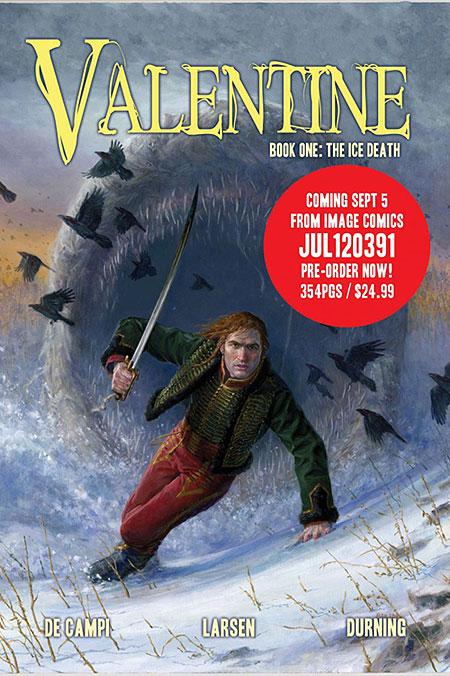 Комікс-фентезі Valentine розповість Америці й Європі про війну 1812 року