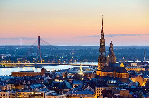 Рига. Столиця Латвії