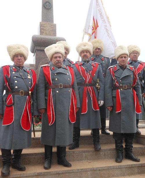 Білоруські козаки вшанували пам`ять героїв війни 1812 року