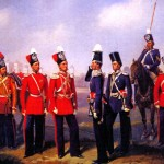 Офіцери та рядові Лейб-гвардії Козачого полку