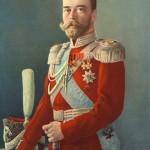 Цор Миколай II у мундирі Лейб-гвардії Козацького полку