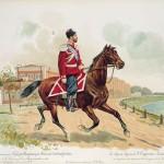 Імператор Миколай II у мундирі Лейб-гвардії Козацького полку
