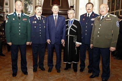 Сергій Іванов відвідав Музей лейб-гвардії козачого полку у Франції