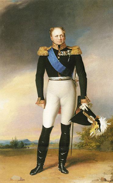 Російський Імператор Олександр Павлович