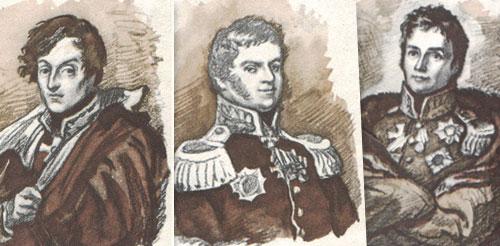 Жан (Іван) Архипов. Серія портретів героїв Вітчизняної війни 1812 року