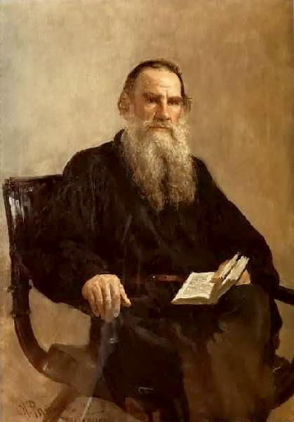 Лев Миколайович Толстой, видатний російський пісьменник, класик світової літератури