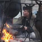 У таборі Російської армії. Фото з реконструкції у Славкові-Аустерлиці (Чехія)