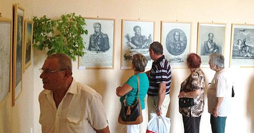 У замку Славков-Аустерліц відкрито виставку до 200-річчя Бородінської битви