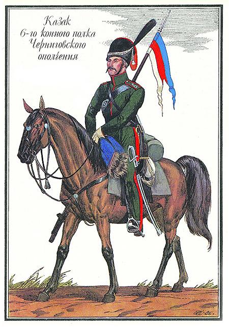 6-й Чернігівський козачий полк Малоросійського народного ополчення