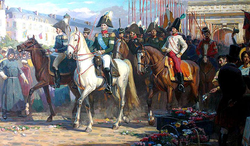 1814. Русская весна в Париже